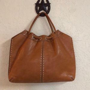 Michael Kors leather studded purse